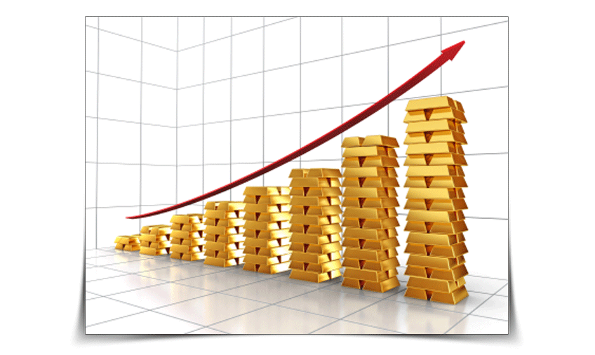 gold value always rising - safe investment
