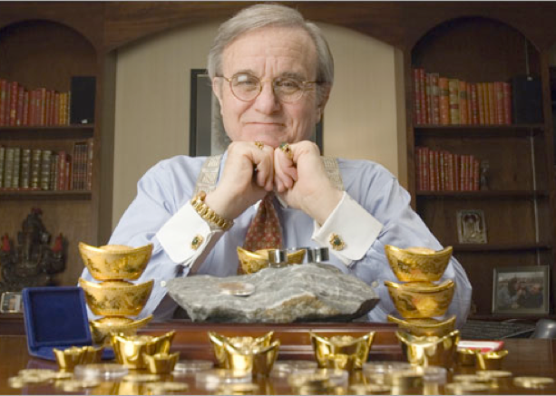 jim sinclair gold investing ira rollover